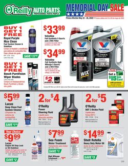 Catalogue O'Reilly Auto Parts from 05/22/2020