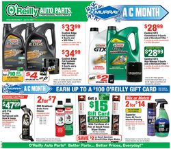 Catalogue O'Reilly Auto Parts from 05/27/2020