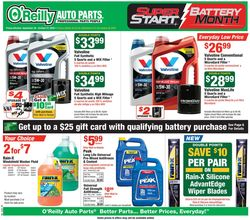 Current weekly ad O'Reilly Auto Parts