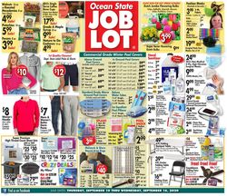 Catalogue Ocean State Job Lot from 09/10/2020