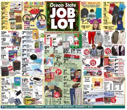 Current weekly ad Ocean State Job Lot