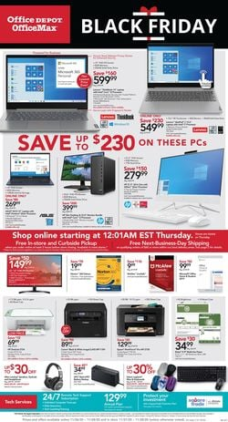 Current weekly ad Office DEPOT