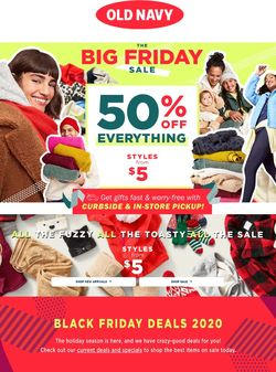 Current weekly ad Old Navy