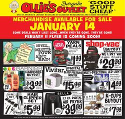 Current weekly ad Ollie's
