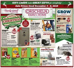 Orscheln Farm and Home weekly-ad