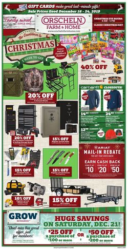 Orscheln Farm And Home Black Friday Ad 2019 Current Weekly