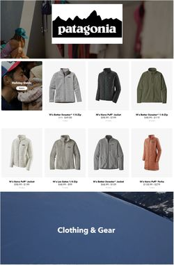 Current weekly ad Patagonia