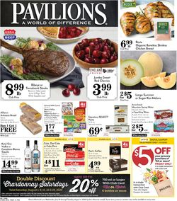 Catalogue Pavilions from 07/29/2020