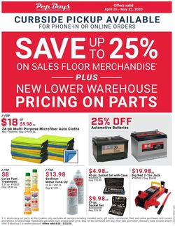 Catalogue Pep Boys from 04/26/2020