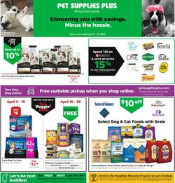 Catalogue Pet Supplies Plus from 04/02/2020