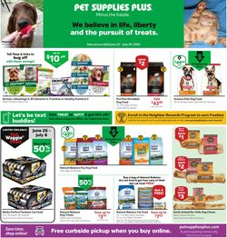 Catalogue Pet Supplies Plus from 06/25/2020