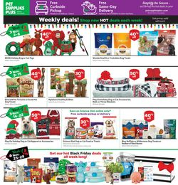 Catalogue Pet Supplies Plus Black Friday 2020 from 10/29/2020