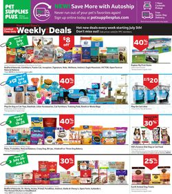 Current weekly ad Pet Supplies Plus
