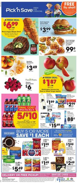 Catalogue Pick 'n Save from 08/26/2020