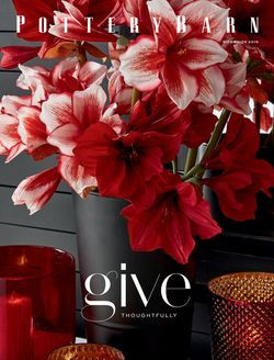 Pottery Barn - Gifts Ad 2019