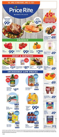 Current weekly ad Price Rite