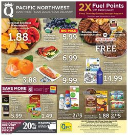 Catalogue QFC from 07/29/2020