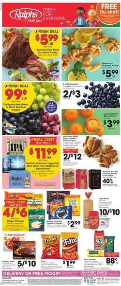 Catalogue Ralphs from 09/09/2020