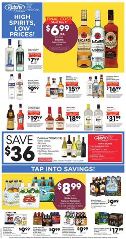 Catalogue Ralphs from 09/16/2020