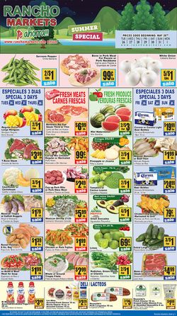 Catalogue Rancho Markets from 05/26/2020