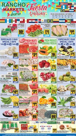 Current weekly ad Rancho Markets