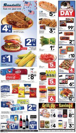Catalogue Randalls from 05/26/2021