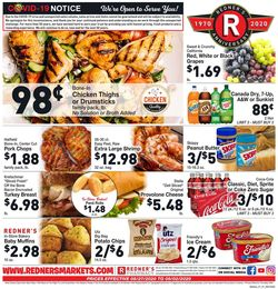 Catalogue Redner's Warehouse Market from 08/27/2020