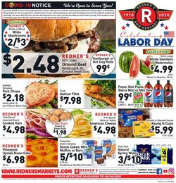 Catalogue Redner's Warehouse Market from 09/03/2020