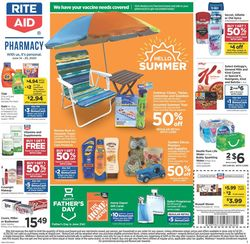 Catalogue Rite Aid from 06/14/2020