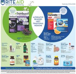 Catalogue Rite Aid from 09/20/2020