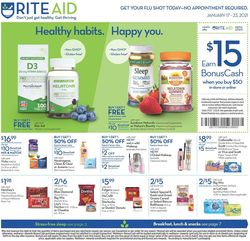 Current weekly ad Rite Aid