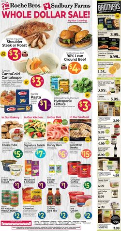 Current weekly ad Roche Bros. Supermarkets