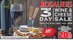 Current weekly ad Rosauers