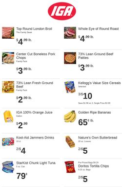 Catalogue Rowe's IGA Supermarkets from 06/02/2021
