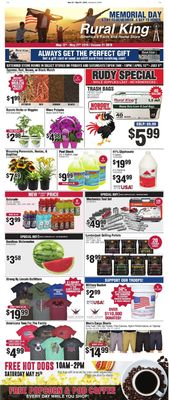 Rural King Current weekly ad 05/12 - 05/27/2019 - frequent