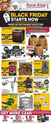 Catalogue Rural King Black Friday Ad 2019 from 10/27/2019