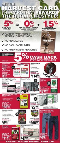 Catalogue Rural King from 07/01/2020