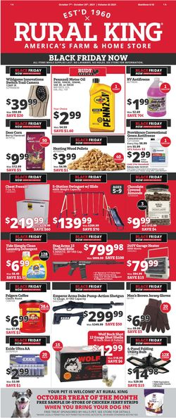 Current weekly ad Rural King