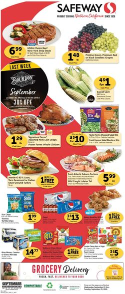 Catalogue Safeway from 09/23/2020