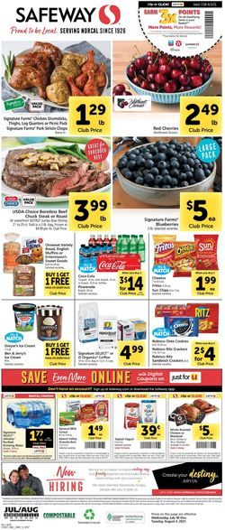 Current weekly ad Safeway