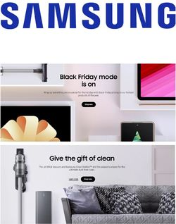 Current weekly ad Samsung