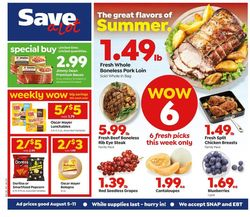 Current weekly ad Save a Lot