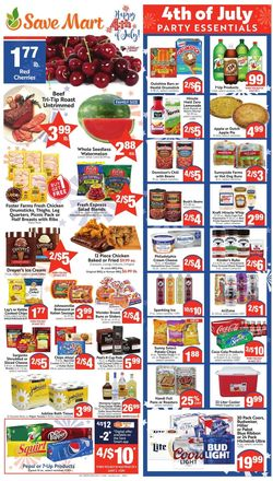 Catalogue Save Mart from 07/01/2020