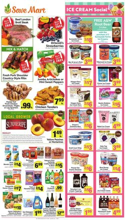 Current weekly ad Save Mart