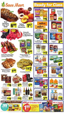 Catalogue Save Mart from 07/29/2020