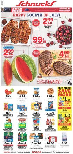 Catalogue Schnucks from 07/01/2020