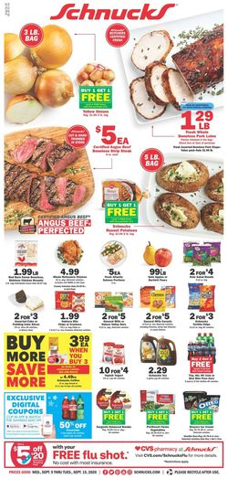 Catalogue Schnucks from 09/09/2020