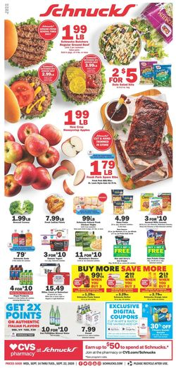 Current weekly ad Schnucks