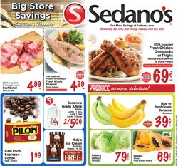 Catalogue Sedano's from 05/27/2020