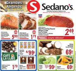 Catalogue Sedano's from 07/15/2020